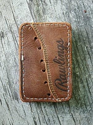 Baseball Glove Vvault Wallet