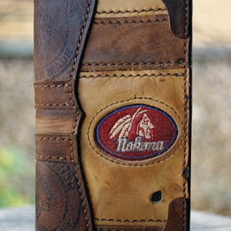 Custom Tall Boy Wallet Featured In Nokona Glove Leather
