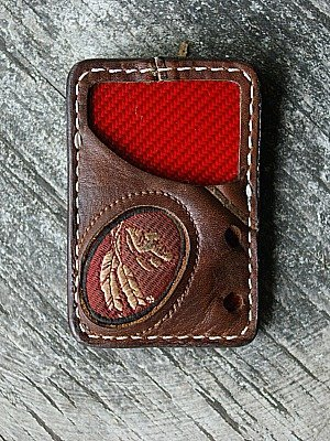 Custom Vvault Front Pocket Wallet Featured In Nokona Glove Leather
