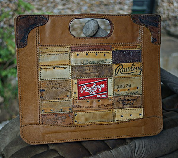 Baseball Glove Leather Briefcase