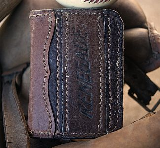 Credit Card Bifold Baseball Wallet