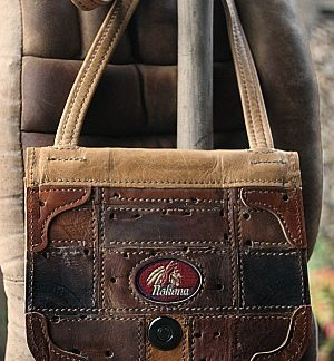 Nokona baseball glove leather purse